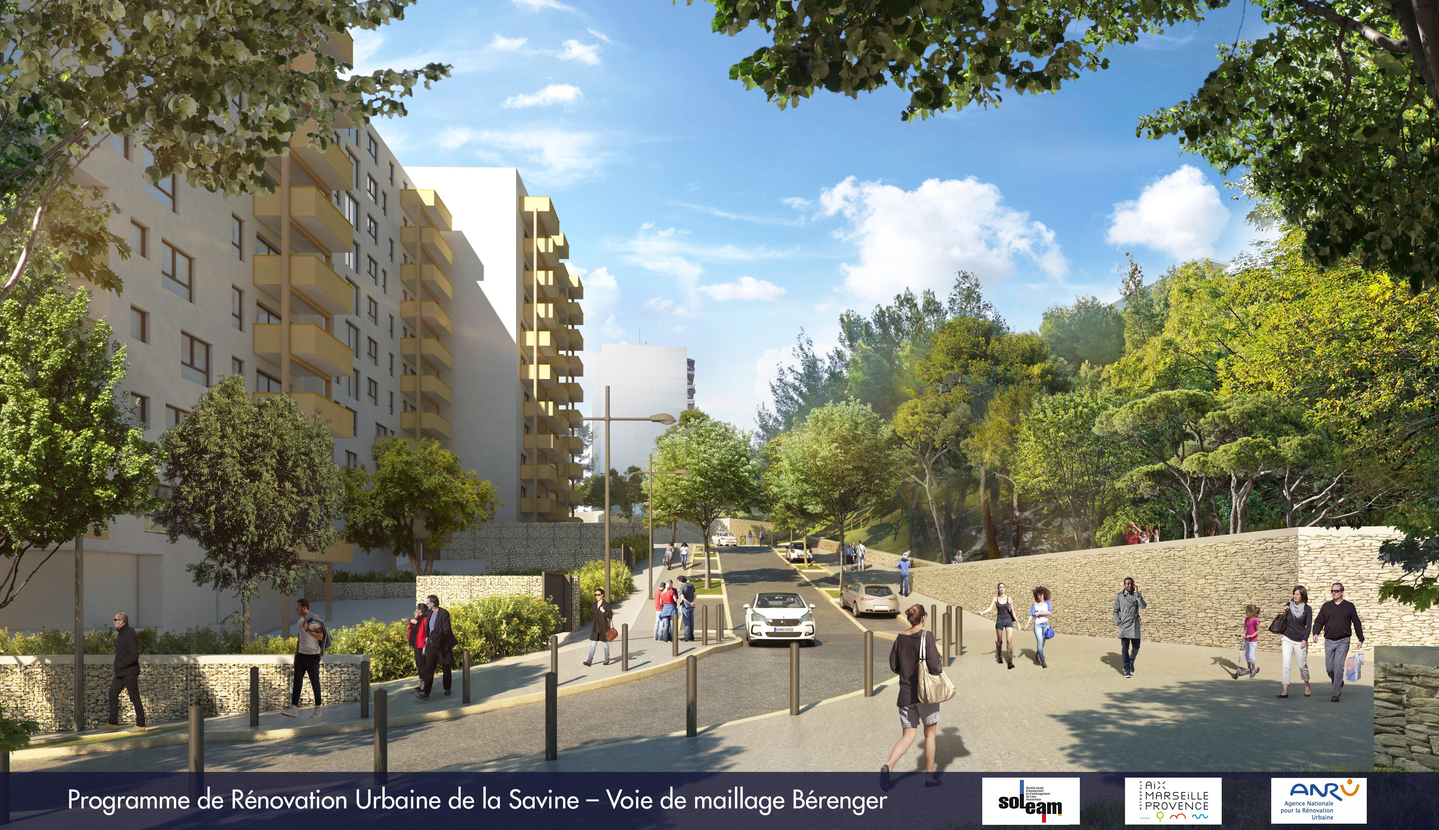 marseille rénovation urbaine organigramme